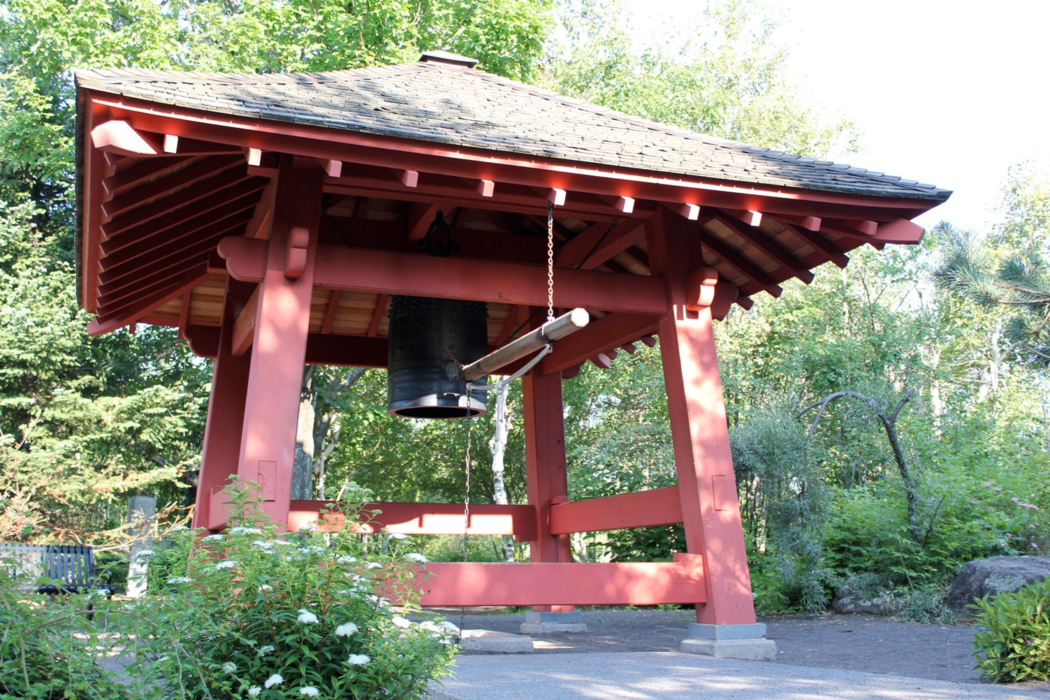 The Peace Bell at Enger Park in Duluth