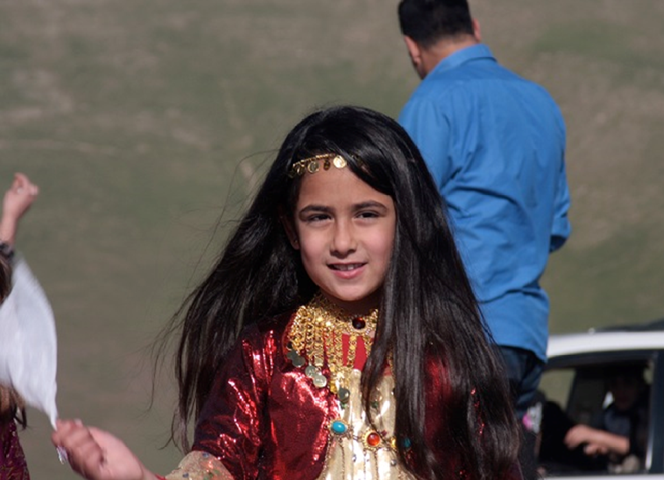 Traditional Kurdish dress
