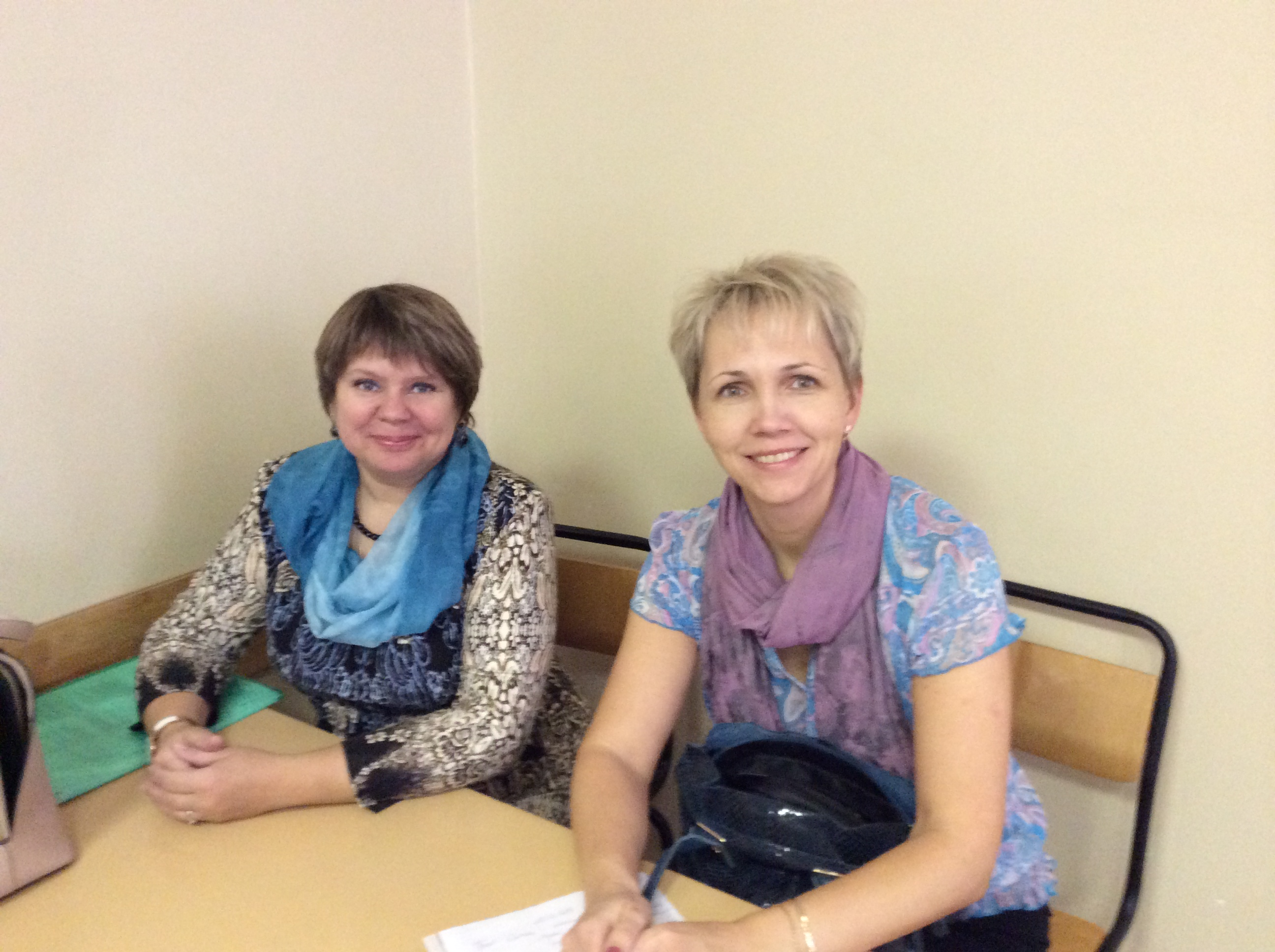 Russian P2P leaders-Olga Klevina and Elena Malysheva