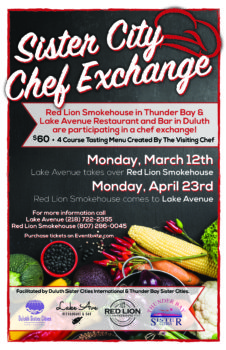 Sister City Chef Exchange Thunder Bay @ Red Lion Smokehouse | Thunder Bay | Ontario | Canada